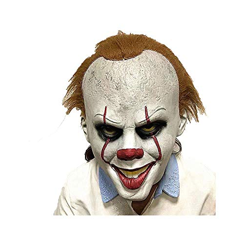 Heibai Cosplay-Maske, Halloween-Clown-Maske-Accessoires