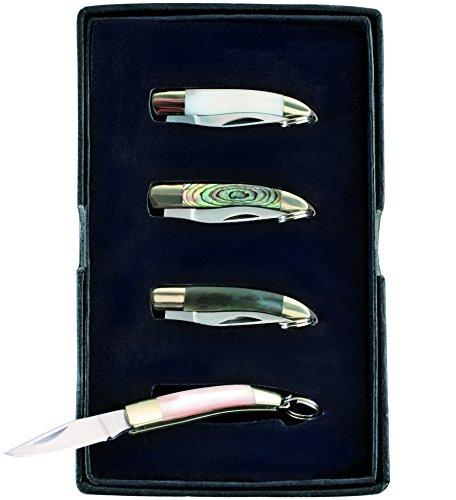 Herbertz Mini 4er Set Gesamtlänge: 6.1cm Messer, Grau, M