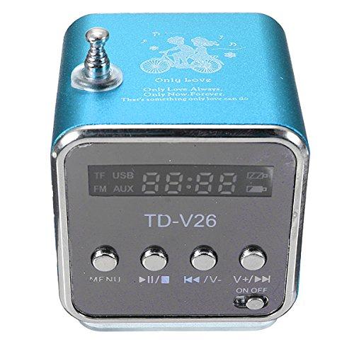 Mini TF Altavoz estéreo USB Radio FM Music Player para PC MP3 iPhone 5S 5C SAMSUNG