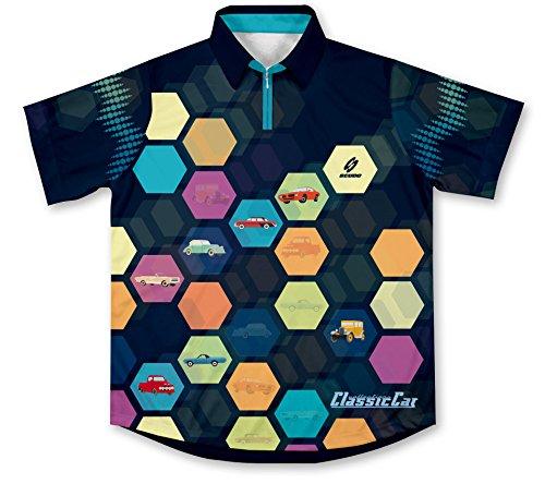 Classic Car Pit Crew Racing Hemd für Mechaniker (Crew Racing Pit Shirt)