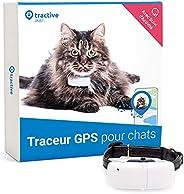 Tractive collier GPS pour chat (2021)   Suivez-le partout   Suivi GPS 24h/24 et historique 365-jours