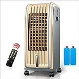 Ménage Climatisation Ventilation et Chauffage Climatisation Télécommande Petite climatisation silencieuse et économe en énergie 75W (Color : Brown)