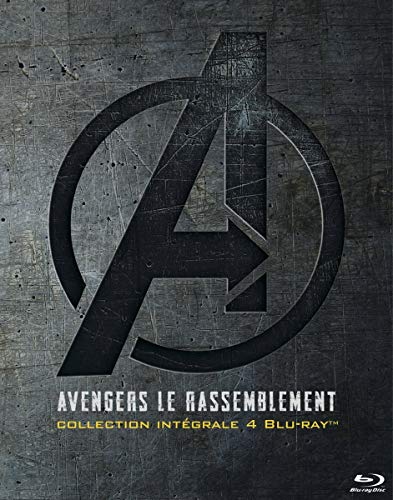 Avengers le rassemblement - Collection intégrale 4 films [Blu-ray]