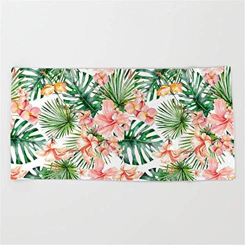 84d75ee362ce rwwrewre Tropical Jungle Hibiscus Flowers - Floral Beach Towel 31.5