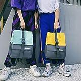 SEBAS Home Persönlichkeit Rucksäcke Mode High School Student Schultasche Casual Rucksack Reiserucksack (Color : Green)