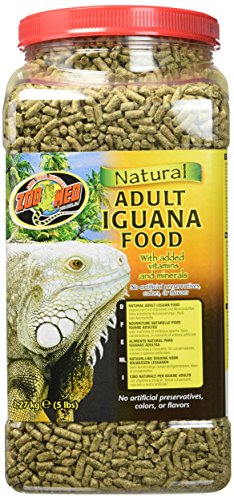 ZooMed Reptilienfutter Natural Iguana Food Adult 2.27kg, 1er Pack (1 x 2.27 kg)
