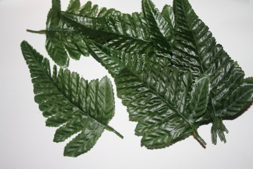 25 fern leaves artificial flowers foliage greenery by floral natalie