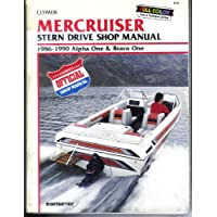 Mercruiser Stern Drive Shop Manual 1986-1990 Alpha One and Bravo One