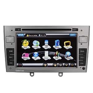 koolertron-autoradio DVD pour Peugeot 308 308SW 408 DVD de voiture avec le GPS de navigation et de 7 pouces HD écran tactile et Bluetooth