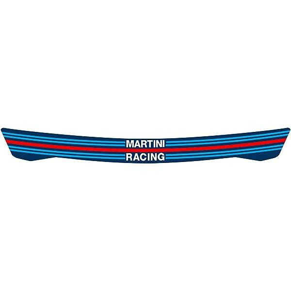 Martini Racing Helmvisier Aufkleber Visierstreifen Autohelm Auto