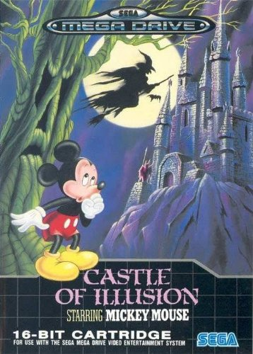 Castle of Illusion starring Mickey Mouse (Mega Drive) gebr. -