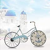 XP-wall clock Mittelmeer Nordic Fahrrad Wanduhr kreative Europäische Eisen Wand Dekoration Wand Dekoration Wand Wand Dekorationen Handwerk