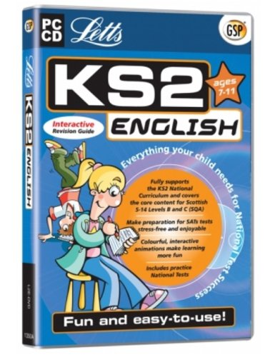 Letts KS2 English Interactive Revision Guide (Ages 7-11) (PC) Test