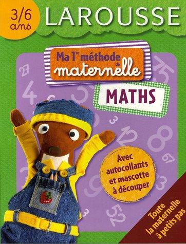 Maths 3/6 ans par Brigitte Melluso