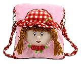 Tickles Pink Doll School Sling Bag Stuff...