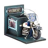 Pot à stylos et porte photo Moto ancienne...