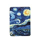 JIAJUN Kindle Paperwhite Custodia - Case Cover Custodia Amazon Nuovo Kindle Paperwhite (Adatto Tutte Le Versioni 2018 /10ª Generazione) (Starry Night)