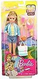 Barbie FWV16 - Reise Stacie Puppe mit Flamingo Tasche und Zubehör aus Barbie Dreamhouse Adventures,...