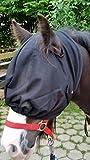 Fliegenschutzmaske Fliegenmaske Fliegenhaube Fliegennetz Mini Shetty Shetty Pony VB WB Ex Full, Pony