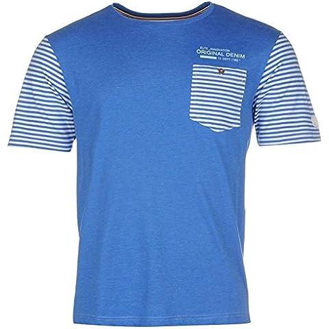 Smith -  T-shirt - A righe - Collo a U  - Maniche corte  - Uomo