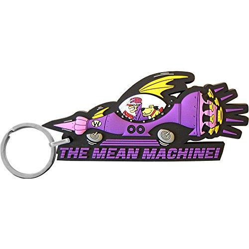 Wacky Races Mean Machine PVC Keyring