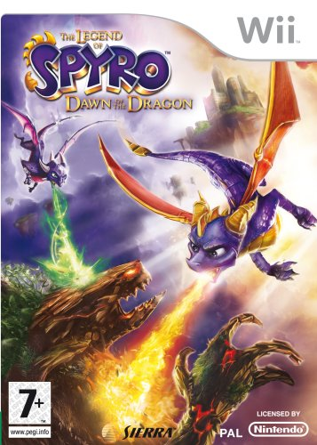 [Import Anglais]The Legend of Spyro Dawn Of The Dragon Game Wii