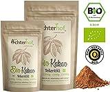 Kakao Pulver Bio (1kg) Kakaopulver Rohkost stark entölt (11% Fett) zuckerfr