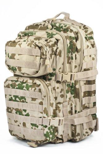 Pack de asalto MOLLE táctico con mochila