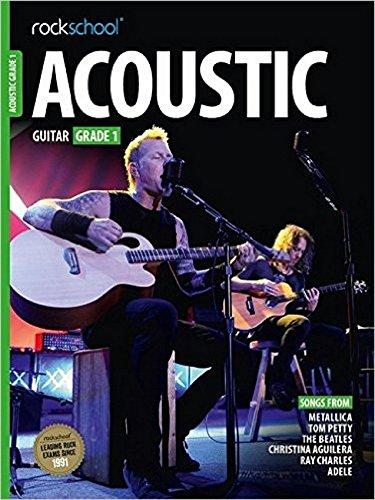 Acoustic Guitar Grade 1 (Rockschool Acoustic Guitar) por Rock School Limited