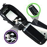 BTR Fahrradtasche Rahmentasche mit Regenschutz Option und Fahrrad Handyhalterung für alle Fahrräder. Fahrrad Handyhalterung für iPhoneX, iPhone 6s, iPhone 7, iPhone8, iPhone 6 Plus, 7 Plus, 8 Plus, Samsung S7, S8, S9, S7 Edge, S7 Plus, S8 Plus, S9 Plus