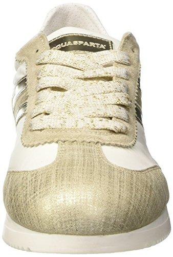 D'Acquasparta Isotta, Sneakers basses femme Oro (Cometa Platino)