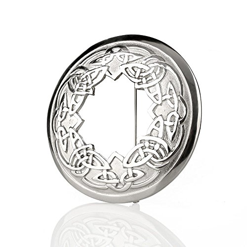 Eburya Celtic Ornaments - keltische Plaid Brosche aus Schottland