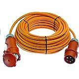 Starkstrom Verlängerungskabel 5m H07BQ-F 5G2,5 CEE Kabel für die Baustelle 80200