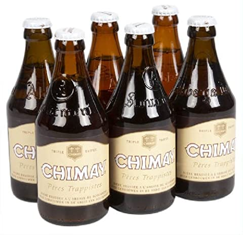 Original belgisches Bier- Chimay Triple 8% vol 6 x 33 cl. Trappisten Bier limitiert. Karneval und Party!!