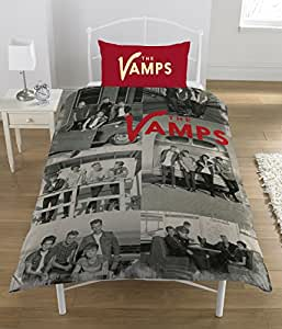 official housse couette une place the vamps. Black Bedroom Furniture Sets. Home Design Ideas