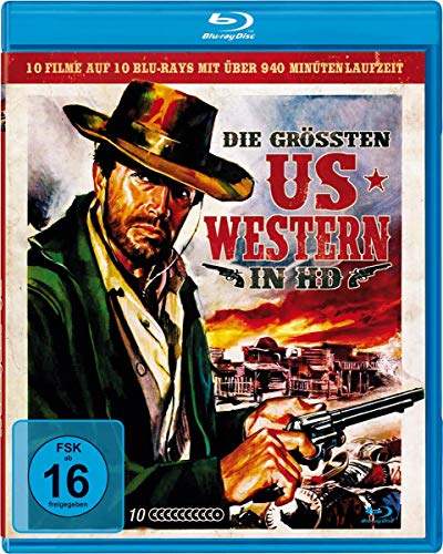 Die größten US-Western in HD [Blu-ray]