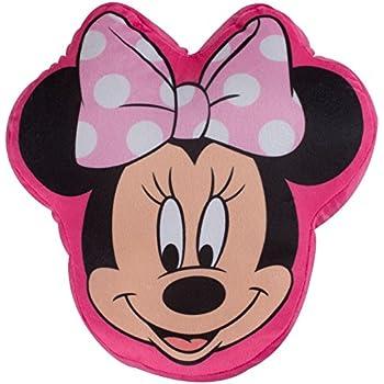Vamos - 007193 - Coussin En Forme De La Tête De Minnie Mouse