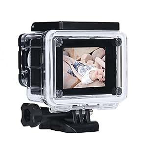 Kolylong Mini 1080P Full HD DV Sports Recorder Car Waterproof Action Camera Camcorder (Black)