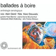 Ballades à boire (CD inclus)
