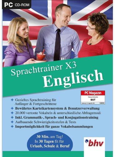 Sprachtrainer X3 Englisch