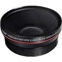Power^UP .43x (52mm) obiettivo grandangolare Macro Convertitore per Nikon D3000, D3100, D3200, D3300, D5000, D5100, D5200, D5300, D5500, D7000, D7100, D7200, DF, D3, D3S, D3X, D4, D40, D40x, D50, D60, D70, D70s, D80, D90, D100, D200, D300, D600, D610, D700, D750, D800, D800E, D810 Fotocamera Reflex digitale - Più Power Filter