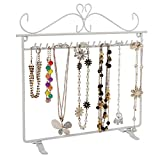 Songmics-JDS023W-Colgador-de-metal-para-joyas-Color-blanco