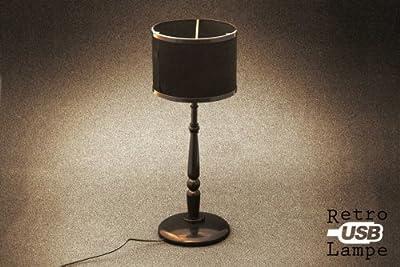USB Lounge Retro Lampe Stehtischlampe von Goods & Gadgets bei Lampenhans.de