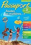 Passeport Toutes les matières - De la 3e à la 2de by Elizabeth Louise Cazenave-Oaten (2014-05-07)