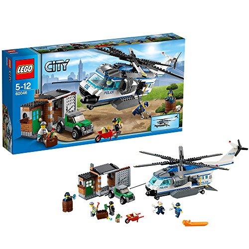 LEGO City Police 60046 - Elicottero di Sorveglianza