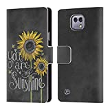 Official Lily & Val Sunshine Floral Typography Leather Book