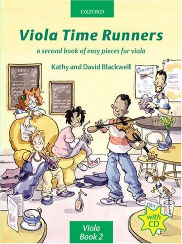 Viola Time Runners + CD: A second book of easy pieces for viola