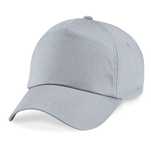 Beechfield - Original 5 Panel Cap Einheitsgröße,Light Grey