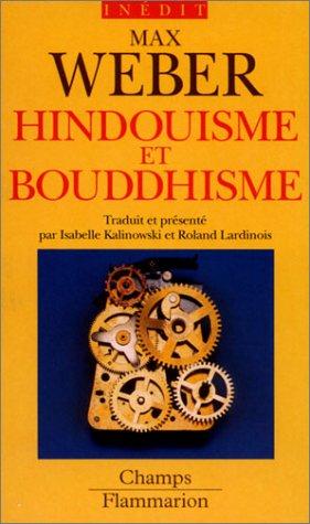 Hindouisme et bouddhisme par Max Weber