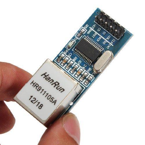 Gut-Tor Mini ENC28J60 Ethernet LAN Netzwerk Modul für Arduino 51 AVR SPI PIC STM32 LPC